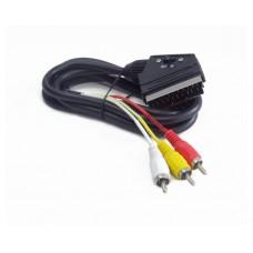 კაბელი: Cablexpert RCA to scart cable 1.8m