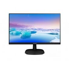"""მონიტორი: Philips 243V7QDAB/00 23.8"""" FHD IPS 4ms VGA DVI-D HDMI Black"""
