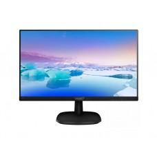 """მონიტორი: Philips 243V7QJABF/00 23.8"""" FHD IPS 4ms VGA HDMI DP Black"""