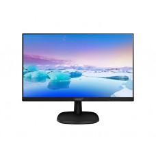 """მონიტორი: PHILIPS 27""""  Full HD LCD monitor Black -  273V7QJAB"""