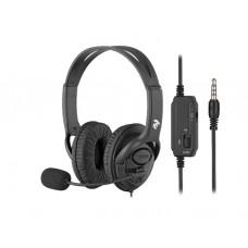 ყურსასმენი: 2E CH13 PC Headset Black - 2E-CH13SJ
