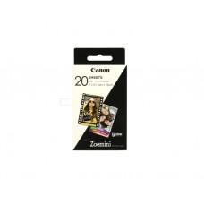 ფოტო ქაღალდი: Canon Zoemini C Zink Paper 20 Sheets ZT-2030-20 - 3214C002AA
