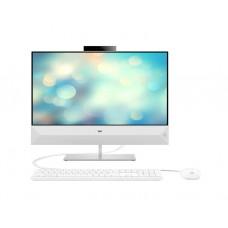 "All IN ONE კომპიუტერი: HP Pavilion  24-xa0062ur  23.8""  FHD  Intel Core i3-9100T  4GB  1TB Free Dos  White - 7JU46EA"