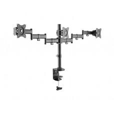 """მონიტორის საკიდი: Logilink BP0050 Triple Monitor Desk mount, 13""""-27"""""""