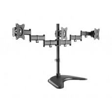 """მონიტორის საკიდი: Logilink BP0051 Triple monitor desk stand 13""""–27"""""""