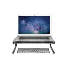 ნოუთბუქის სადგამი: LogiLink BP0059 Metal monitorlaptop riser, max. 20 kg