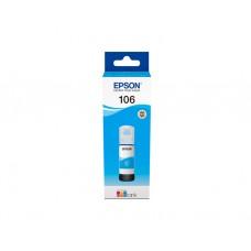 მელანი: Genuine Cyan Epson 106 Ecotank Ink Bottle - C13T00R240