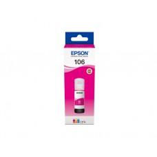 მელანი: Genuine Magenta Epson 106 Ecotank Ink Bottle - C13T00R340