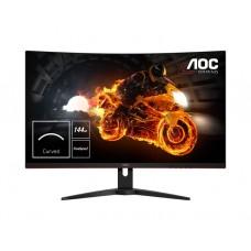 """მონიტორი: AOC C32G1  31.5""""  FHD VA 144Hz  4ms  VGA  2xHDMI  DP Black"""