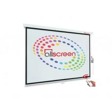 """პროექტორის ეკრანი: ALLSCREEN CMP-6363 Electric Projection Screen 160x160cm 90"""""""