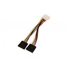 კაბელი: Logilink CS0007 SATA  2 x Power Cable, 0,15m