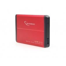 მყარი დისკის ყუთი: Gembird EE2-U3S-2-R USB 3.0 2.5 enclosure