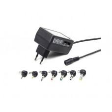 ადაპტერი: Gembird EG-MC-009 Universal AC-DC adapter 24 W
