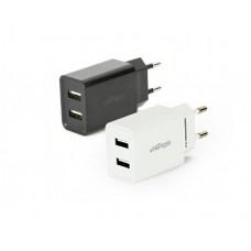 დამტენი: Gembird EG-U2C2A-03-MX 2-port universal USB charger 2.1 A