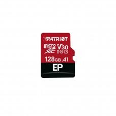 მეხსიერების ბარათი: Patriot EP Series 128GB MICRO SDXC V30 UHS-1 U3 C10 - PEF128GEP31MCX