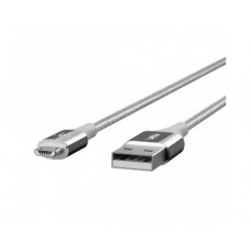 კაბელი USB: Belkin MIXIT DuraTek Micro-USB to USB Cable 1.2m Silver