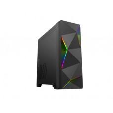 ქეისი: GameMax ARES RGB light Mid Tower Case Black