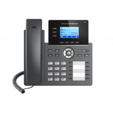 IP ტელეფონი: Grandstream GRP2604P IP Phone PoE 6SIP 3 lines Black