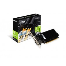 ვიდეო დაფა: MSI GeForce GT710 1GB DDR3 64-bit low profile silent - GT_710_1GD3H_LP