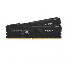 ოპერატიული მეხსიერება: Kingston HyperX Fury DDR4 16GB 3200MHz DUAL KIT DIMM - HX432C16FB3K2/16