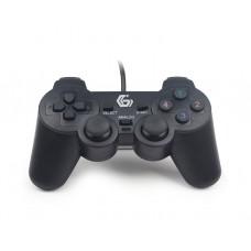 სათამაშო პადი: Gembird JPD-UDV-01 Dual Vibration USB gamepad