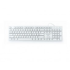 "კლავიატურა: Gembird KB-MCH-03-W-RU Multimedia ""chocolate"" keyboard USB RU layout white"