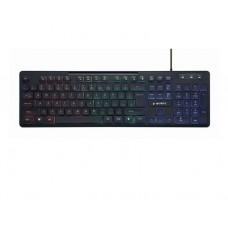 """კლავიატურა: Gembird KB-UML-02 """"Rainbow"""" backlight multimedia keyboard"""