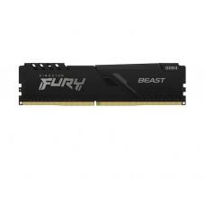 ოპერატიული მეხსიერება: Kingston FURY Beast DDR4 32GB 2666MHz DIMM - KF426C16BB/32