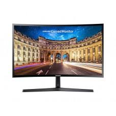 """მონიტორი: Samsung LC24F396FHIXRU  23.6""""  FHD Curved  4ms  3000:1  VGA HDMI   Black"""