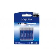 ელემენტი: Logilink LR03B4 Battery, Ultra Power Alkaline AAA 4pcs. Blister