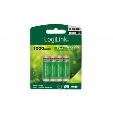 ელემენტი: Logilink LR03RB4 Battery, Rechargeable, NiMH, AAA, 4pcs. Blister