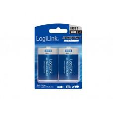 ელემენტი: Logilink LR20B2 Battery, Ultra Power Alkaline D LR20, 2pcs. Blister