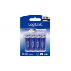 ელემენტი: Logilink LR6B4 Battery, Ultra Power Alkaline AA, 4pcs. Blister