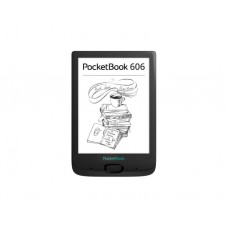 "ქინდლი: PocketBook 606  6""  256MB 8GB Black - PB606-E-CIS"