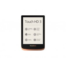 "ქინდლი: PocketBook 632 Touch HD 3 6"" 512MB 16GB Spicy Copper - PB632-K-CIS"