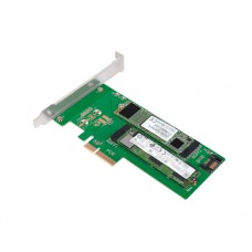 ადაპტერი: Logilink PC0083 PCI-Express Card, PCIE to M.2 PCIe SSD & M.2 SATA SSD