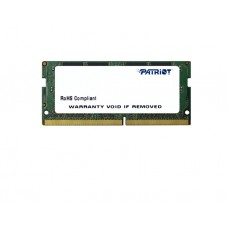 ოპერატიული მეხსიერება: Patriot DDR4 SL 4GB 2400MHZ SODIMM - PSD44G240081S