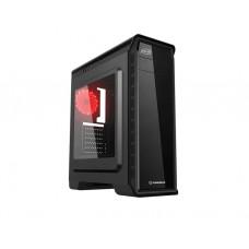 ქეისი: GameMax Pardo 1x120mm Red Led Fan Black