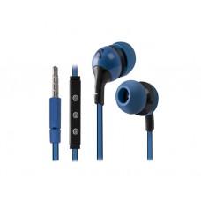 ყურსასმენი: Defender Pulse 452 with microphone Black+Blue - 63452