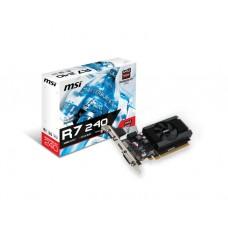 ვიდეო დაფა: MSI Radeon R7 240 2GB 64-bit DDR3 Low Profile - R7_240_2GD3_64B_LP