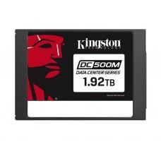 """მყარი დისკი: Kingston DC500M 1.92TB SSD SATA 3.0 6Gb/s 2.5"""" - SEDC500M/1920G"""