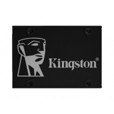 """მყარი დისკი: Kingston KC600 512GB  SSD  2.5""""  SATAIII  3D  NAND TLC - SKC600/512GB"""