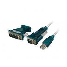 ადაპტერი: Logilink UA0042A USB Adapter USB 2.0 - Serial