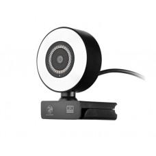 ვიდეოთვალი: 2E 2E-WC2K-LED QUAD HD 2K 4MP Gaming WEBCAM LED Backlight Black