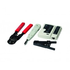 იარაღების ნაკრები: Logilink WZ0012 Tool and Tester set For Networking 4 parts