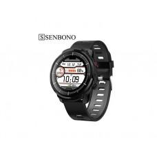 სმარტ საათი: SENBONO S10 Plus Smart Watch Plus Full Touch Screen Smart Watch Men Women Sports Watch with Heart Rate Monitor Smart Watch for IOS Android Phone