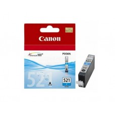 კარტრიჯი: Canon CLI-521C Cyan Original Ink Cartridge - 2934B004AA