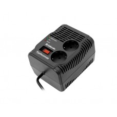 სტაბილიზატორი: Defender Automatic Voltage Regulator AVR Typhoon 1000 320W 2 outlets - 99033