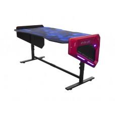 გეიმერული მაგიდა :E-blue EGT003BKAA-IA Gaming Desk Black