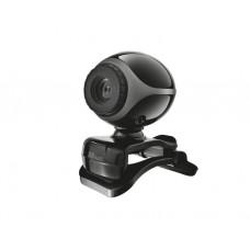 ვიდეოთვალი: TRUST Exis Webcam - BlackSilver - 17003